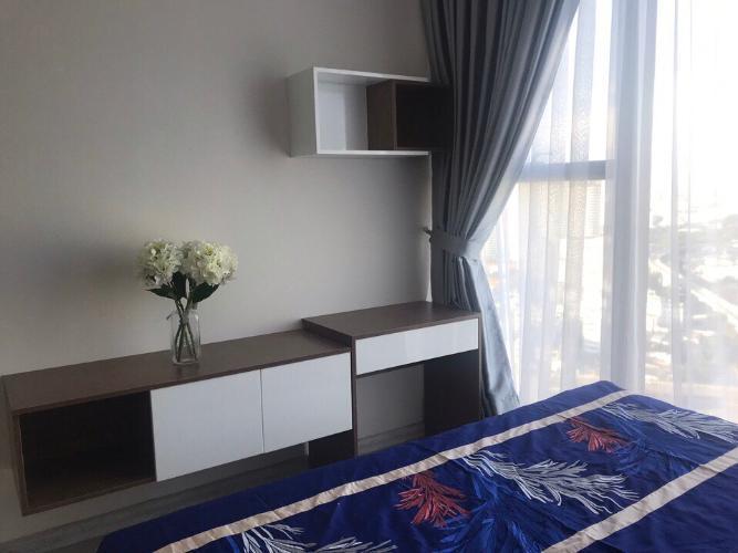 Phòng ngủ Căn hộ Vinhomes Golden River Ba Son Cho thuê căn hộ Vinhomes Golden River tầng 6, đầy đủ nội thất sang trọng, view thành phố