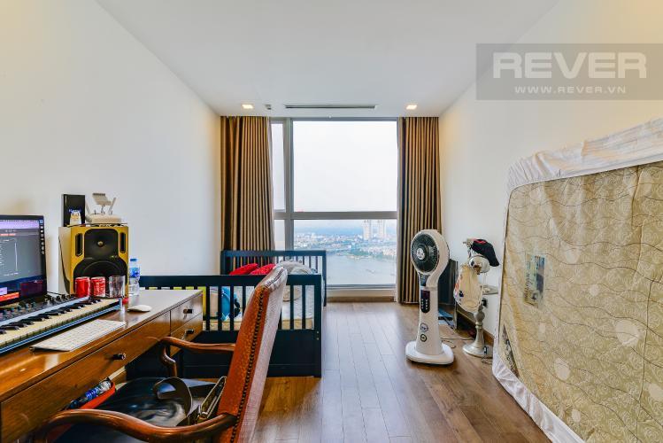 Phòng Ngủ Căn hộ Vinhomes Central Park 4 phòng ngủ tầng cao P1 view sông