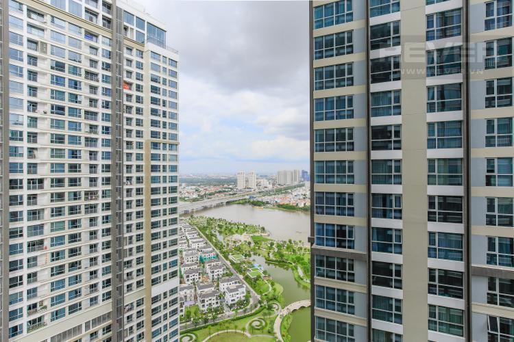 View Căn hộ Vinhomes Central Park tầng cao, tháp Park 6, 2PN, nội thất cơ bản