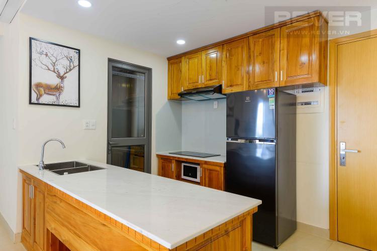 Bếp Cho thuê căn hộ Masteri Thảo Điền 2PN, tầng cao, tháp T4, đầy đủ nội thất