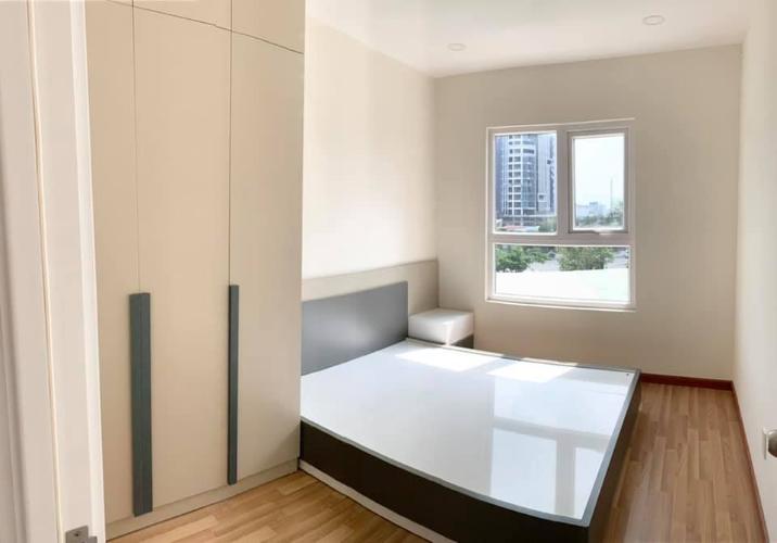 Phòng ngủ City Gate, Quận 8 Căn hộ tầng cao City Gate đầy đủ nội thất, lót sàn gỗ.