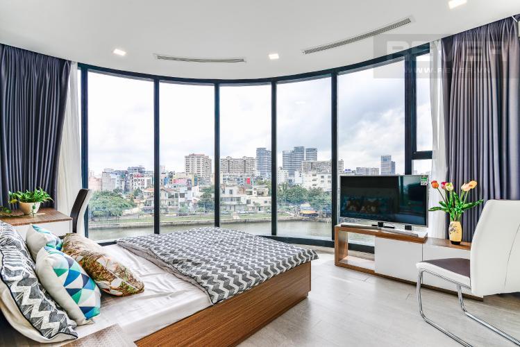 Phòng Ngủ 3 Căn hộ Vinhomes Golden River tầng thấp, tháp Aqua 3, 3 phòng ngủ, hướng Đông Bắc, view sông