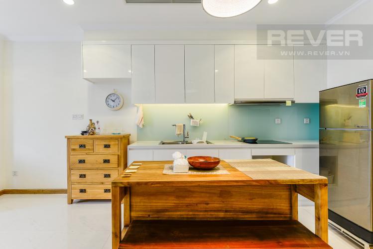 Bếp Cho thuê căn hộ Vinhomes Central Park tầng cao, view đẹp, đầy đủ nội thất