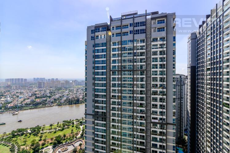 View Căn hộ Vinhomes Central Park 3PN nội thất đầy đủ, view sông Sài Gòn