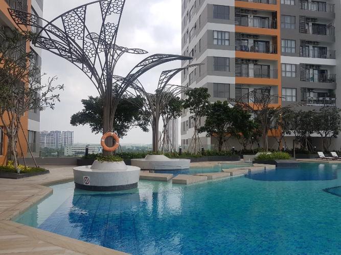 Hồ bơi Officetel THE SUN AVENUE Bán officetel The Sun Avenue 1PN diện tích 33m2, nhà thô