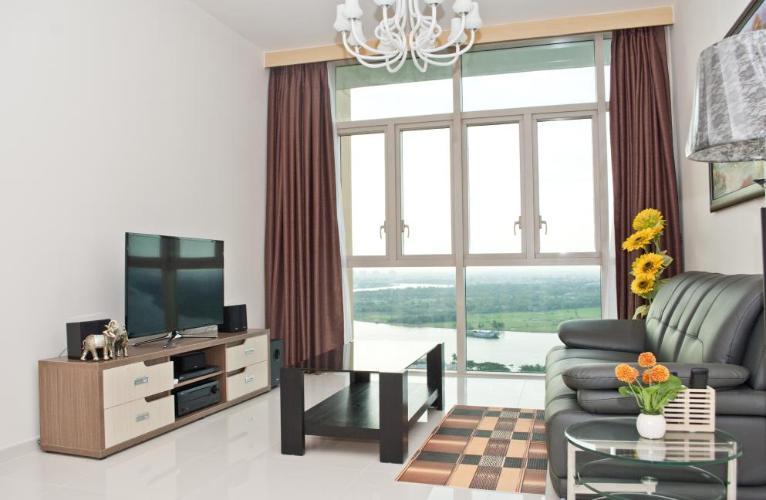 Cho thuê căn hộ The Vista An Phú 2PN, tháp T4, đầy đủ nội thất, view sông thoáng mát