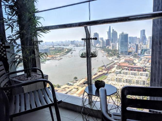 View căn hộ Vinhomes Golden River Bán căn hộ Vinhomes Golden River tầng cao, diện tích 45m2 - 1 phòng ngủ, đầy đủ nội thất.