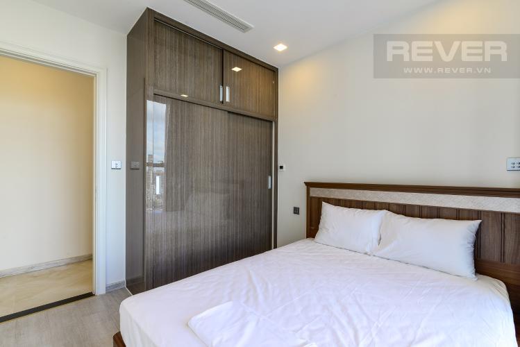 Phòng Ngủ 1 Bán căn hộ Vinhomes Golden River 2PN, tháp The Aqua 1, đầy đủ nội thất, view trực diện sông Sài Gòn