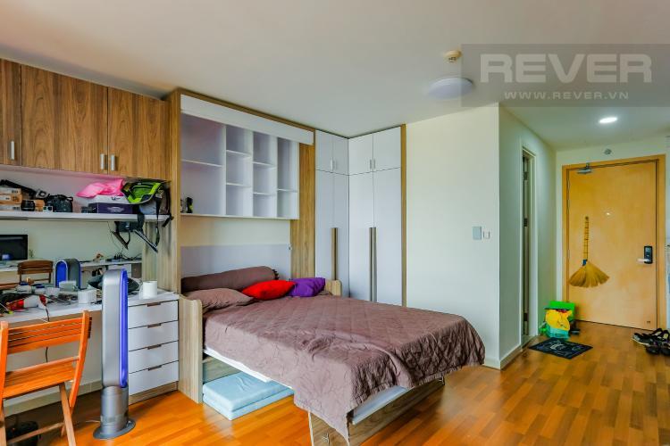 Phòng Ngủ Căn hộ M-One Nam Sài Gòn 1 phòng ngủ tầng thấp T2 nội thất đơn giản
