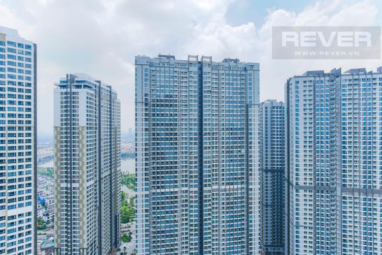 View Căn hộ Vinhomes Central Park tầng cao tháp Central 3,2 phòng ngủ, full nọi thất