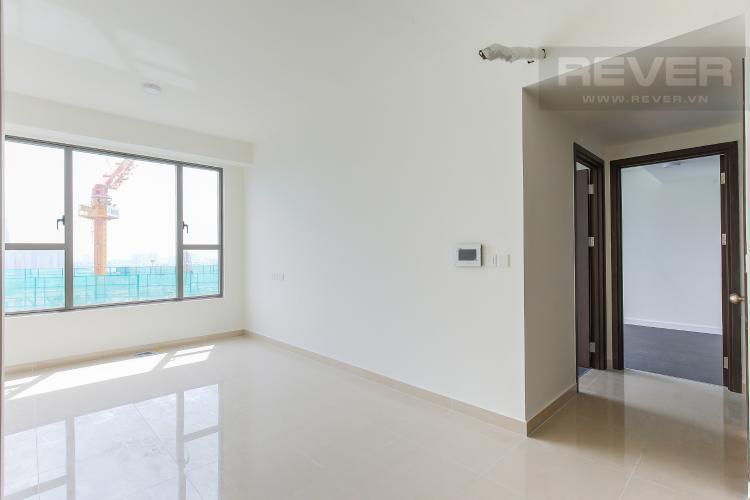 Phòng Khách Căn hộ The Tresor 2 phòng ngủ tầng cao TS1 nội thất cơ bản