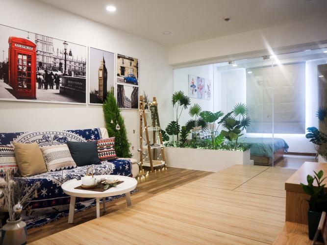 Cho thuê căn hộ Icon 56, đầy đủ nội thất, view thành phố.