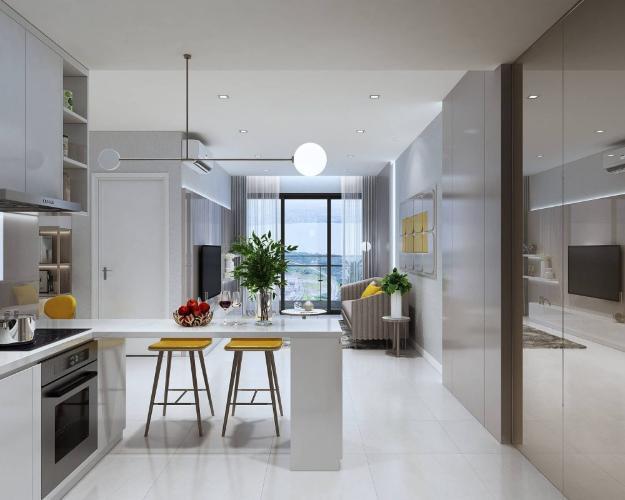 bếp căn hộ Ricca quận 9 Căn hộ tầng 10 dự án Ricca nội thất cơ bản