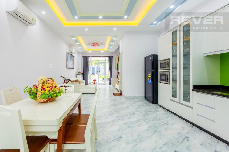 Tổng quan Nhà phố khu compound Mega Khang Điền Quận 9 nội thất đầy đủ