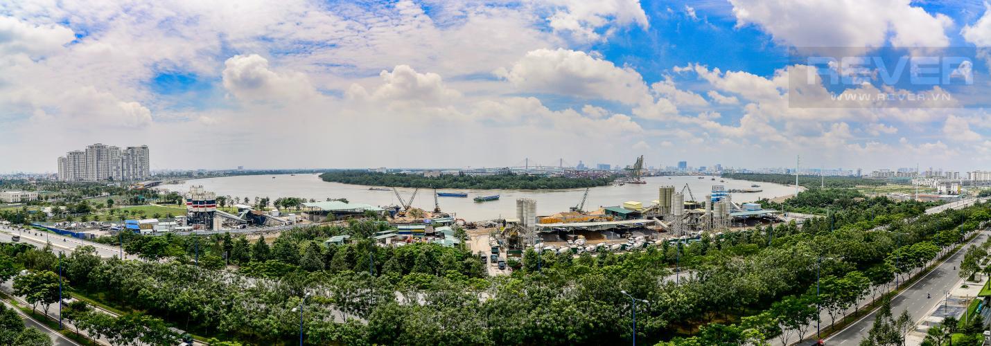 View Cho thuê căn hộ New City Thủ Thiêm tầng trung, tháp Bali, 3PN, đầy đủ nội thất