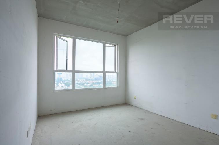 Phòng Ngủ 1 Căn góc Vista Verde 2 phòng ngủ tầng cao T1 nhà giao thô