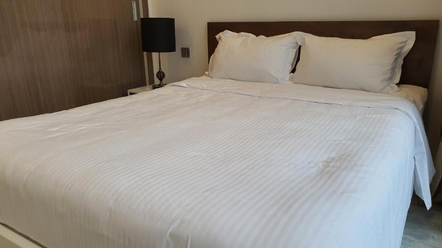 phòng ngủ Căn hộ Vinhomes Golden River tầng cao, hướng Tây Nam.