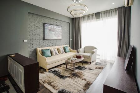 Cho thuê căn hộ Grand View 3 phòng ngủ, đầy đủ nội thất, view sông thông thoáng