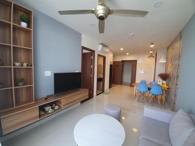 Bán căn hộ Grand Riverside 1PN, tầng 11, diện tích 55m2, đầy đủ nội thất