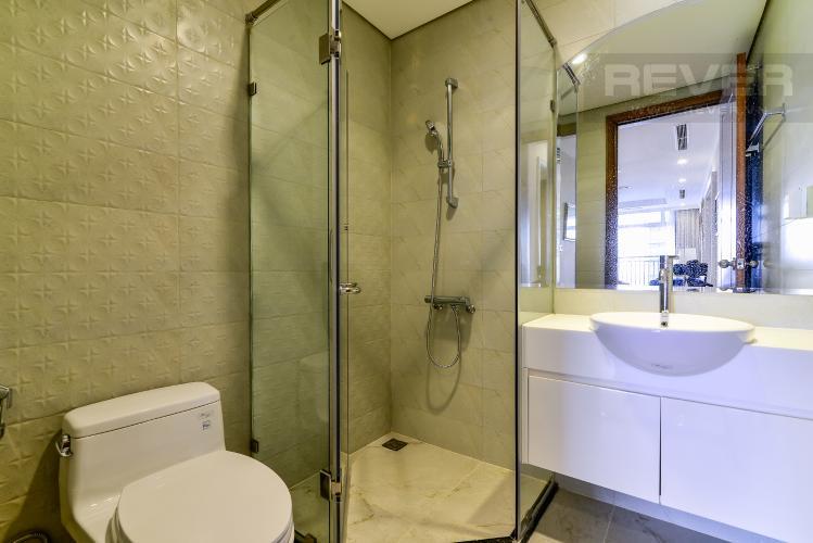 Phòng Tắm 1 Căn hộ Vinhomes Central Park tầng trung 3PN đầy đủ nội thất, view sông