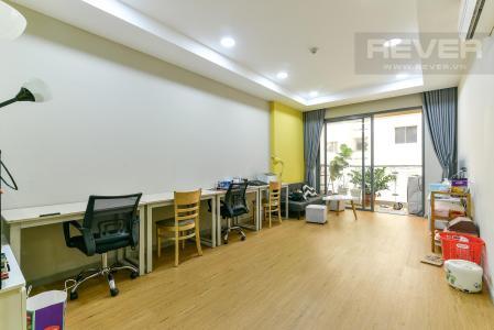 Cho thuê căn hộ officetel The Gold View 2PN, diện tích 80m2, đầy đủ nội thất, view nội khu