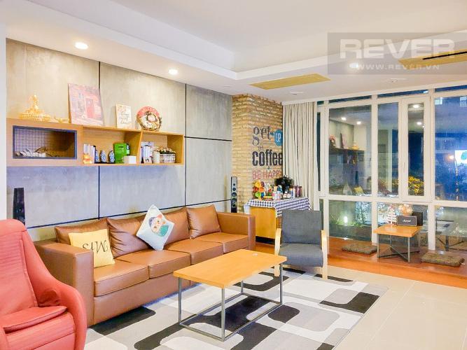 Phòng Khách Bán căn hộ Imperia An Phú 3PN, diện tích 135m2, đầy đủ nội thất, thiết kế hiện đại