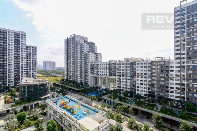 View Cho thuê căn hộ New City Thủ Thiêm 85m2 gồm: 3PN 2WC, hướng Đông Bắc, view nội khu