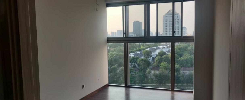 Phòng ngủ căn hộ Midtown Căn hộ Phú Mỹ Hưng Midtown nội thất cơ bản, view thành phố.