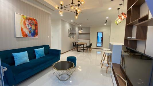 Bán căn hộ Vinhomes Central Park 3 phòng ngủ thuộc tầng cao, tháp Landmark 81, diện tích 108.7m2
