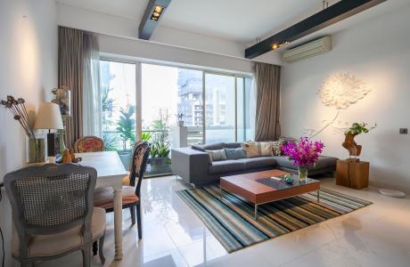 Căn hộ The Estella Residence 2 phòng ngủ tầng thấp T3B nội thất đầy đủ