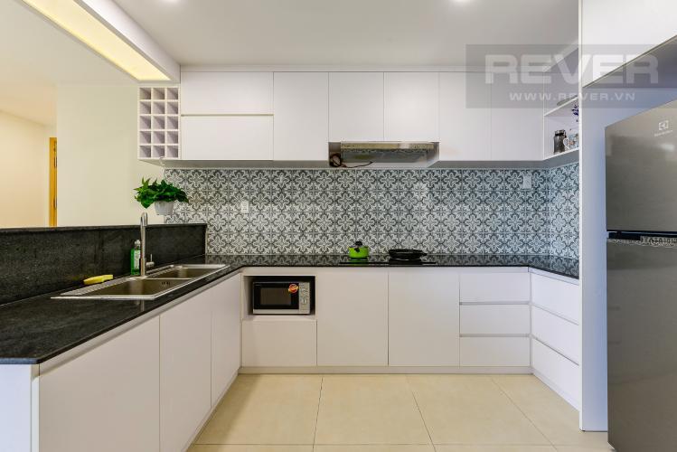 Bếp Cho thuê căn hộ Masteri Thảo Điền tầng cao, 2PN, đầy đủ nội thất, view sông