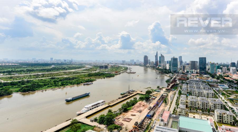 View Cho thuê căn hộ Vinhomes Golden River tầng cao, 2PN đầy đủ nội thất, view sông thoáng đãng