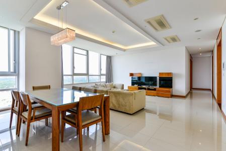 Cho thuê căn hộ Xi Riverview Palace tầng cao, 3PN, đầy đủ nội thất, view sông