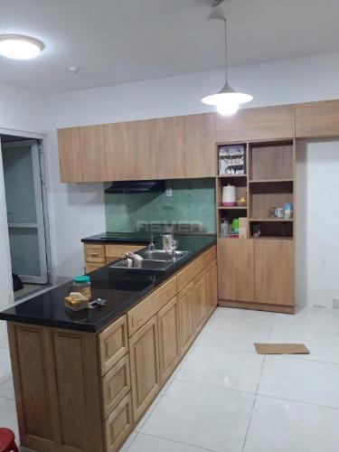 Căn hộ cao cấp Tara Residence tầng cao nội thất đầy đủ.
