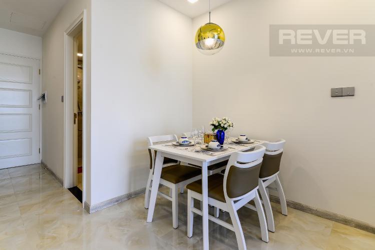 Phòng Ăn Cho thuê căn hộ Vinhomes Golden River tầng cao, 1PN, đầy đủ nội thất