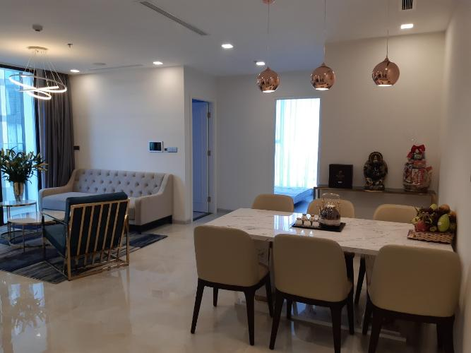 Cho thuê căn hộ Vinhomes Golden River 3PN, tháp The Aqua 4, diện tích 98m2, đầy đủ nội thất