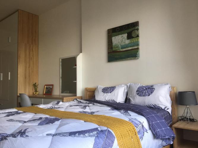 Phòng ngủ căn hộ The Sun Avenue Căn hộ tầng cao The Sun Avenue, tiện ích cao cấp, nội thất đầy đủ.