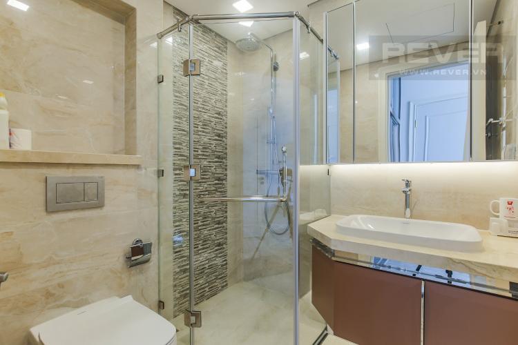 Phòng Tắm 1 Cho thuê căn hộ Vinhomes Golden River 2PN, tầng cao, đầy đủ nội thất, view sông Sài Gòn