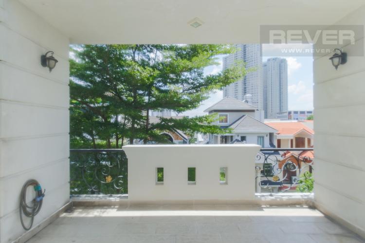 Sân Thượng Bán biệt thự 4 tầng, 4PN, đầy đủ nội thất cao cấp, khu B phường An Phú, Quận 2