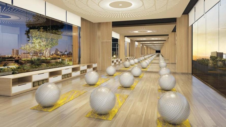 phòng tập yoga Bán căn hộ The Ascentia với tiện ích đa dạng, thiết kế hiện đại.