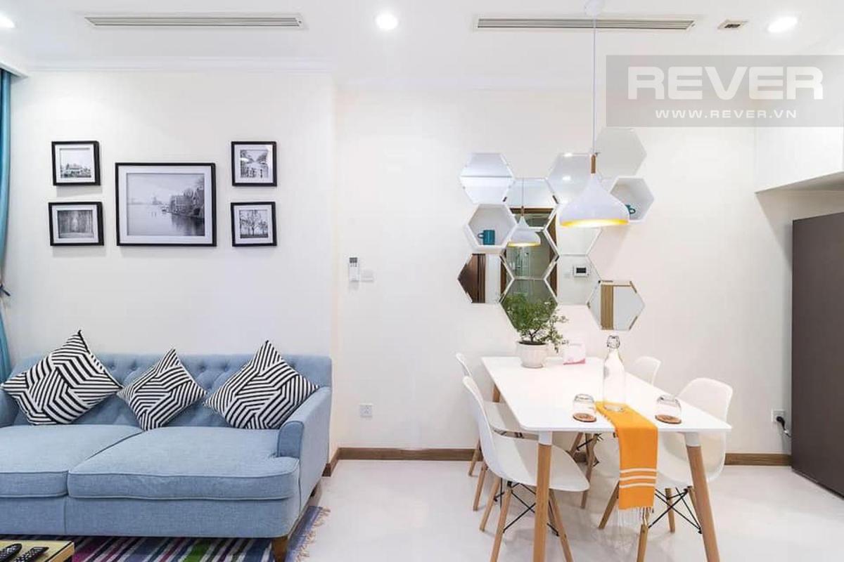Bếp Bán căn hộ 1 phòng ngủ Vinhomes Central Park, tháp Landmark 5, đầy đủ nội thất, ban công Đông Bắc thoáng mát