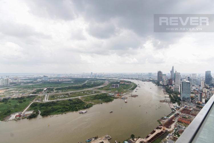 View Cho thuê căn hộ Vinhomes Golden River 4PN, tầng cao, đầy đủ nội thất, view trực diện sông Sài Gòn