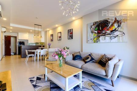Cho thuê căn hộ The Gold View 2PN, tầng thấp, diện tích 91m2, đầy đủ nội thất, view thành phố và hồ bơi