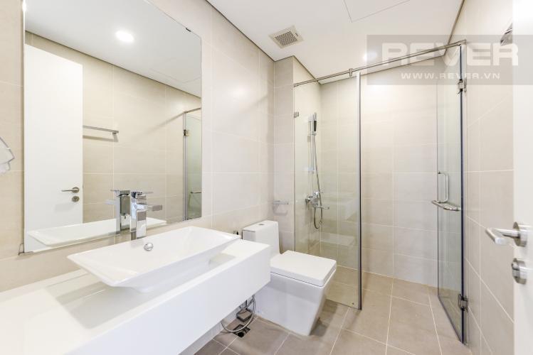 Phòng tắm 1 Cho thuê căn hộ Masteri Millennium 3PN rộng rãi, đầy đủ nội thất