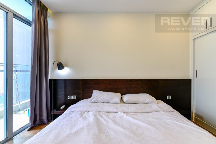 Phòng Ngủ Căn hộ Vinhomes Central Park 1 phòng ngủ tầng cao P6 hướng Nam