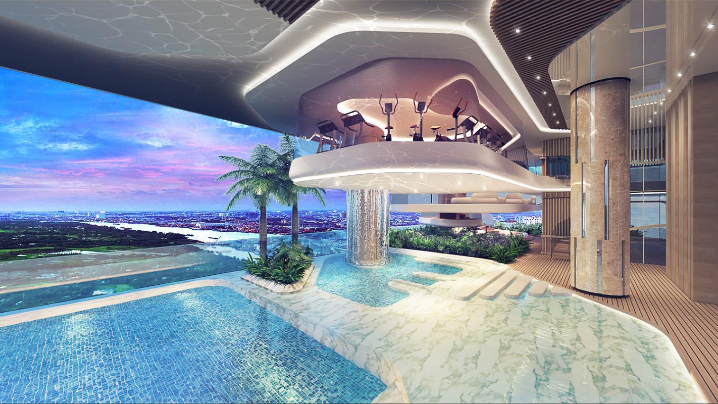 Pool-Gym-D04 Bán căn hộ Q2 Thao Dien 3PN, tầng trung, diện tích 93m2, căn đẹp giá tốt, view sông