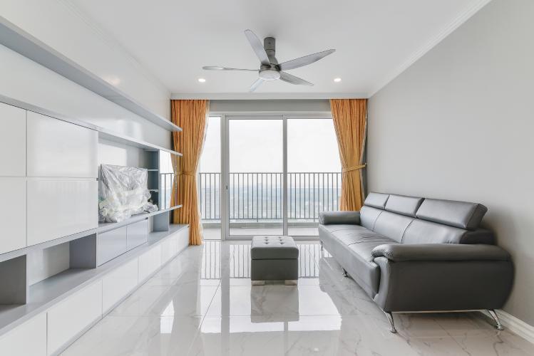 Căn hộ Vista Verde 2 phòng ngủ tầng cao T2 view sông không bị chắn