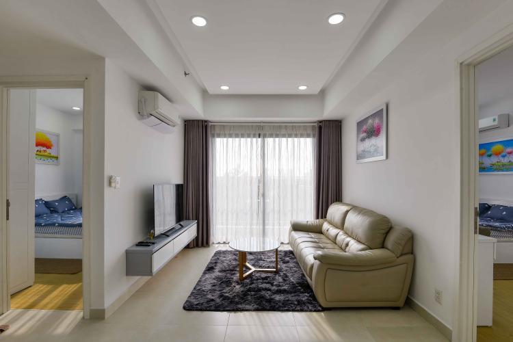Phòng Khách Cho thuê căn hộ Masteri Thảo Điền 2PN, tầng thấp, diện tích 72m2, đầy đủ nội thất