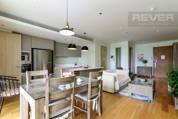 Phòng Khách Bán căn hộ Diamond Island - Đảo Kim Cương 2PN, đầy đủ nội thất, view sông thoáng mát