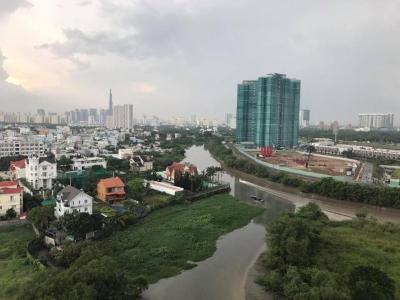 Bán căn hộ Homyland Riverside (HomyLand 3) 2PN, tầng cao, nội thất cơ bản, view sông thoáng mát